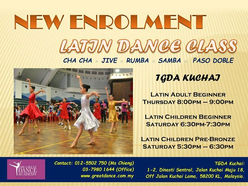 Latin 2020 Kuchai New Intake